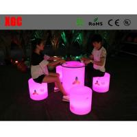 Quality Colorful RGB LED Coffee Table Light Weight Anti Water With Lithium Battery for sale