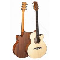 Quality Senior Full Size Spruce Solidwood Western Guitar / Wood Acoustic Guitar Professional TP-AG25 for sale
