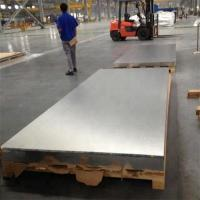 Quality 7050 Aircraft Aluminum Plate Bright Surface Cracking Resistance for sale