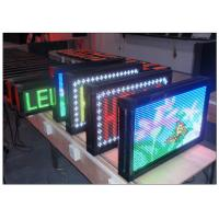 Quality Aluminum Programmable Digital Signage Solution for Coffee / Bus / Shop DIP546 for sale