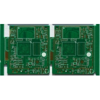 Quality Impedance Control Double Sided Fr4 4 Mil Fiberglass PCB board for sale