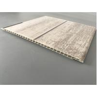 Slab Decorative PVC Panels Transfer Printing Durable 7mm Thick for Ceilings