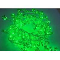 Quality Indoor LED Christmas Fairy Lights Green 120 Bulbs 5v Copper Wire String Lights for sale