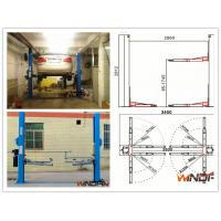 Buy cheap High Stability Hydraulic 2 Post Car Lift With Adjustable Beam from wholesalers