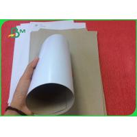 Quality Good Stiffness 400g Coated Duplex Board With White Back In Sheet Or In Roll for sale