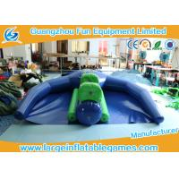 Quality 0.9mm PVC Inflatable Flying Fish Inflatable Boat Water Games For Sea / Lake for sale