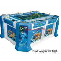 Quality 6 Players Amusement Arcade Coin Operated Hunter Hitting Fishing Cabinet Gambling Game Machine for sale