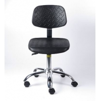 Quality BIFMA Cleanroom PU Leather ESD Chair  400*400mm for sale