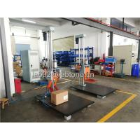Buy cheap Drop Height 150 Cm Packaging Drop Test Machine Steel base 100 x 150 Cm from wholesalers