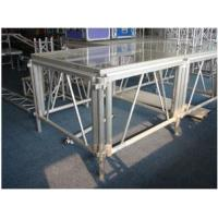 Buy Portable Glass Acrylic Stage Platform For Performances 1.22 * 2.44M at wholesale prices