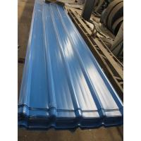 Quality 1500 - 3800mm Length JIS G3322 CGLCC, ASTM A792 Prepainted Corrugated Steel Roof Sheets for sale