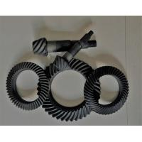 Quality Right Hand Steel Spiral Bevel Gear For Gearbox Anti - Oil Blacking Surface Treatment for sale
