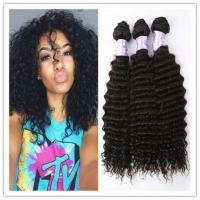 Quality 12'' - 30'' Italian Curly 8A Virgin Hair  Without Animal Or Synthetic Hair for sale