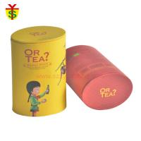 Buy Handmade Cylinder Color Paper Gift Tea Box With Lid OEM Designs For Tea Package at wholesale prices