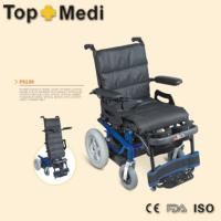 China Power Lifting Standing Up Electric Wheelchair With Import Motor Seat Vertically Elevator on sale