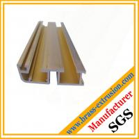 China copper alloy channel extrusion section of window and door on sale