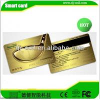 Quality plastic rfid chip card with embossed number for sale