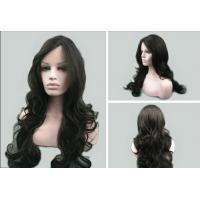 Buy 100% Unprocessed Dark Brown Lace Front Human Hair Wigs With Baby Hair at wholesale prices