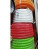 Flexible PVC Corrugated Flexible Tubing Small Bending Radius Chemical Resistant for sale
