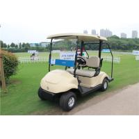 Quality Electronic Two Seat Golf Carts , Club Car Electric Golf Cart With Curtis Controller for sale
