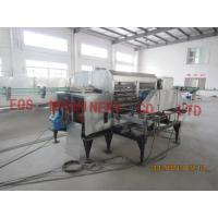 Quality 9.72Kw Automatic Glass Bottle Washing Machine With 8M Length Bottle Conveyer for sale