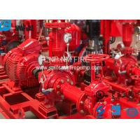 Quality UL Listed Electric Motor Driven Fire Pump End Suction Pump Sets 47.7kw Max Shaft Power for sale
