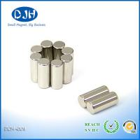 Quality Industrial Monopole N52 Rare Earth Sintered Neodymium Magnet Cylinder High Strength for sale