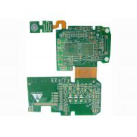 Quality Controller Rigid Flexible PCB Printed Circuit Board with BGA / Fids / PTH Vias for sale