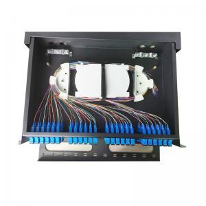 Buy cheap Rack Mounted MPO/MTP Fiber Optic Patch Panel 2U 3U 19 Inch 48/96 Fiber SPECC from wholesalers