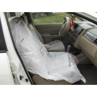 Quality LDPE steering wheel cover, car seat cover, disposable cover, pe car foot mat, gear cover for sale