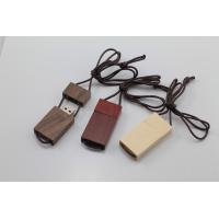 Quality Lanyard Custom Wood USB Flash Drive 3.0 Up to 64GB Personalized for sale