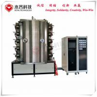 Quality Glass TiN gold Coating Machine Pvd Plating For Crystal Chandelier, Amber Crystal Lighting Coating Equipment, Arc Plating for sale