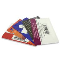 China Customized PVC Plastic Cards / Barcode Card Matte Surface For Entry HF 13.56 MHz on sale