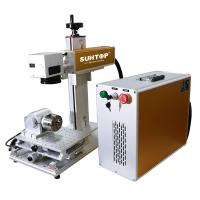 Quality Electric Portable Laser Etching Machine Steel Tubes Rings Cutting Engraving for sale