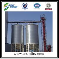 China 100t 500t 1000t 1250t hopper bottom grain maize corn steel silos for sales on sale