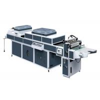 Quality ZHIVE UV Coating Machine For UV Thick / Thin Paper Three Rolls One Coater SDSG-1200B for sale