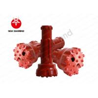 Quality Forging Top Hammer Drill Bits ND55 For Integral Tapered Rod , 5 Inch Size for sale