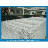 Quality White Color Hot Dipped Wire Mesh Fence With ISO9001 2008 Certificate for sale