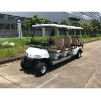 Quality 48V Large Capacity Battery Powered 8 Person Golf Cart With Reverse Folding Seats for sale