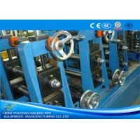 Quality TIG Welding Stainless Steel Tube Mill With Pipe Polishing Blue Colour for sale