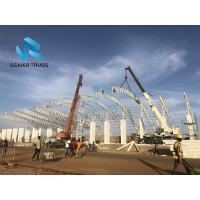 Quality Safe Prefabricated Steel Structure Durable Scaffolding Grandstand Roof Cover System for sale