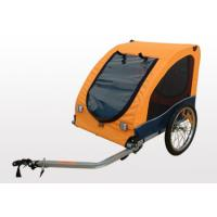 Quality Rollback sunroof, hard bottom with D-ring Bicycle Pet / Dog Trailer for sale