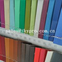 Quality High Quality PU Synthetic Leather Material For Shoes with Crumpled Pattern for sale