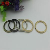 Quality Manufacturing various color iron key chain accessories 29 mm small split key ring for sale
