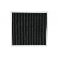 Buy cheap Eliminate Peculiar Smell Pleated Panel Activated Carbon Deodorizer Air Filter from wholesalers