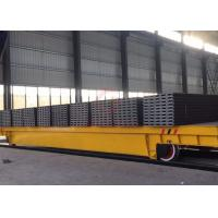 Quality 60t  Rail motorized transfer trolley for industrial equipment handling China Manufacturer for sale