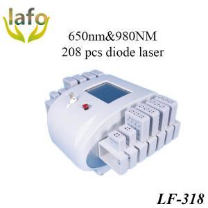 China 650nm&980nm Dual Wavelength Diode Lipo Laser Machine For Sale on sale