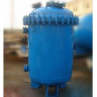 Quality 500L Carbon Steel Glass Lined Vessel , K Type / F Type Jacketed Reactor Vessel for sale