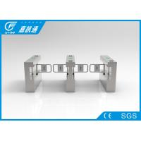 Quality Secuirty Passager Swing Gate Turnstile 40persons / Min For Factory Workforce for sale