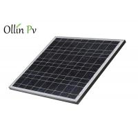 Quality 12V PV Solar Panels Well - Proportioned Navy Blue Silicon Nitride Anti - Reflection for sale